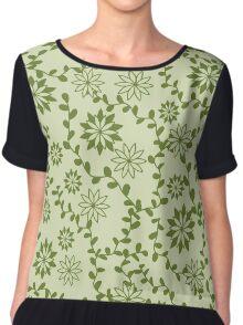 Floral pattern 3 Chiffon Top