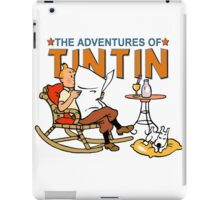 tintin iPad Case/Skin