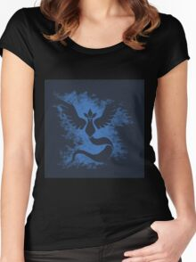 pokemon go : team mystic Women's Fitted Scoop T-Shirt