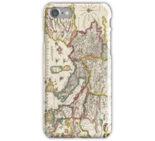 Vintage Map of Europe (1657) iPhone Case/Skin