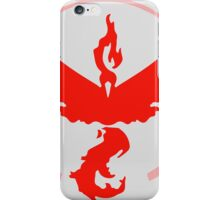 tem red pokemon go iPhone Case/Skin