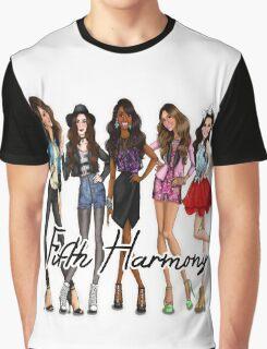 FIFTH HARMONY CUTE CARTOON Graphic T-Shirt