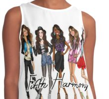 FIFTH HARMONY CUTE CARTOON Contrast Tank