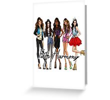 FIFTH HARMONY CUTE CARTOON Greeting Card