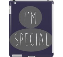 The Special  iPad Case/Skin