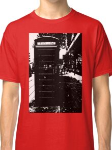 London Phone Box Classic T-Shirt