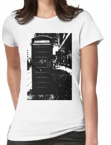 London Phone Box Womens Fitted T-Shirt