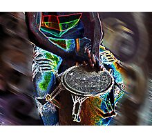 Glowing Hands To God Photographic Print
