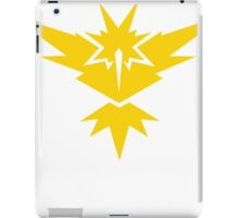 team yellow iPad Case/Skin