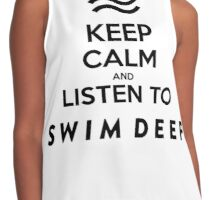 KEEP CALM - SWIM DEEP Contrast Tank