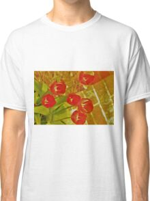 The Red Lightening Tulips Classic T-Shirt