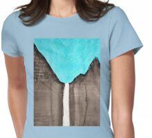 Bridal Veil Falls original painting Womens Fitted T-Shirt