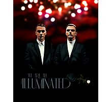 We Are All Illuminated - HURTS Photographic Print