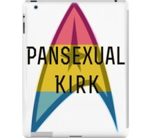 Pansexual Kirk - Star Trek LGBT James T Kirk iPad Case/Skin