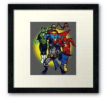 Turtle League Framed Print