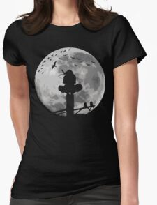 Moon Fighter Womens Fitted T-Shirt
