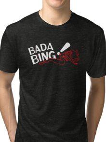 Bada Bing - Blurry Neon Variant Tri-blend T-Shirt