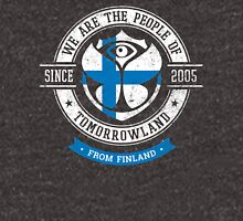 People of Tomorrowland Flags logo Badge - Finland - Finnish - Suomen - suomalainen Unisex T-Shirt