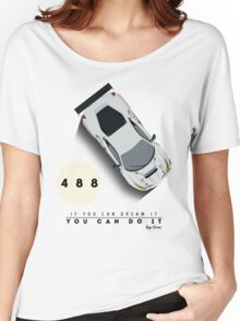 Ferrari 488 GTE Women's Relaxed Fit T-Shirt