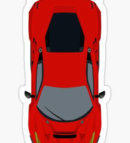 Ferrari 488 GTE Sticker