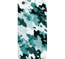 """The Real Teal"" Layered Pattern iPhone Case/Skin"