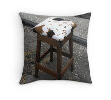 Imitation Cowhide Throw Pillow