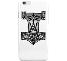 Viking Hammer - Thor's Hammer Design iPhone Case/Skin