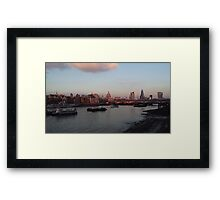 Saint Paul at the centre London  Framed Print