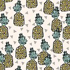 Pineapple - Cream by Andrea Lauren by Andrea Lauren