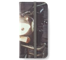 Vintage Motorcycle iPhone Wallet/Case/Skin