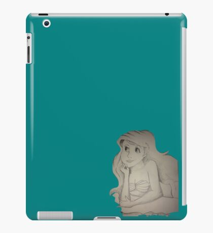 Mini mermaid iPad Case/Skin