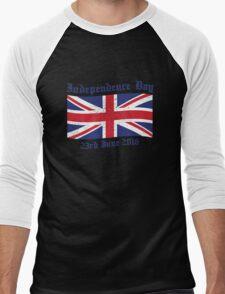 UK Independence Day 23 June 2016 Brexit New Men's Baseball ¾ T-Shirt