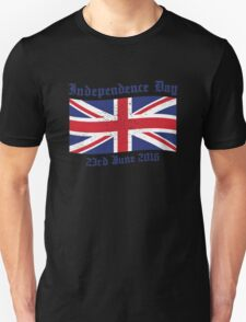 UK Independence Day 23 June 2016 Brexit New Unisex T-Shirt