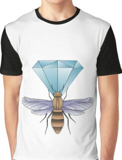 Bumblebee and diamond. Graphic T-Shirt
