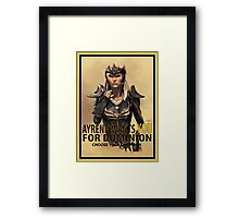 Join the Dominion Framed Print