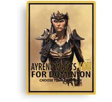 Join the Dominion Canvas Print