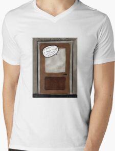 Unmarked Grave Mens V-Neck T-Shirt
