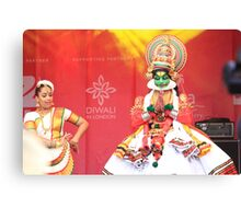 Katthakali  Dance form India Canvas Print