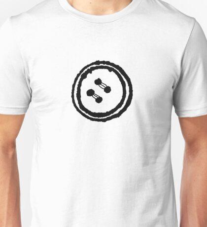 Cartoon Button Doodle Unisex T-Shirt