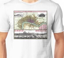 London - England - 1740 Unisex T-Shirt