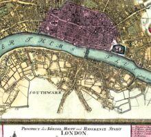 London - England - 1740 Sticker