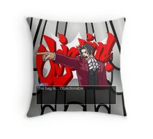 This bag is... Objectionable Throw Pillow