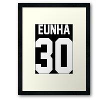 eunha 30 Framed Print