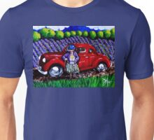 J C 1931 Fishing in Red Unisex T-Shirt