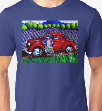 J C 1931 Fishing in Red Unisex T-Shirt