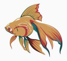 Golden Fish  Kids Tee