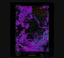 USGS TOPO Map Alaska AK Lime Hills A-8 357022 1954 63360 Inverted Unisex T-Shirt