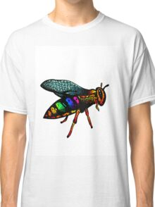 The Rainbow Wasp Classic T-Shirt