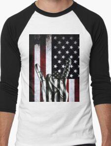 "USA"" Rock On"" Men's Baseball ¾ T-Shirt"