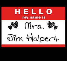 Mrs. Jim Halpert by Braelove